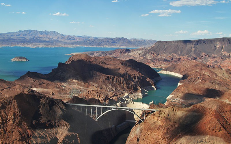 Hoover Dam in Arizona