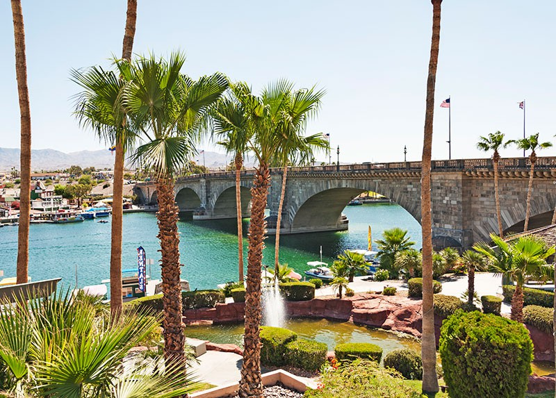 London Bridge at Lake Havasu, Arizona