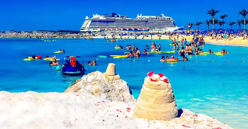 Great Stirrup Cay, owned by Norwegian Cruise LIne