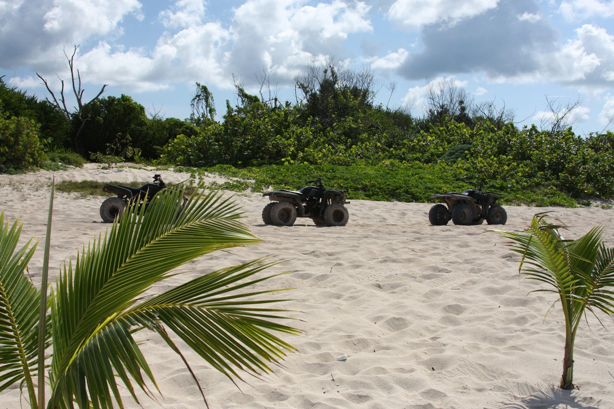 Off road tours on Cozumel