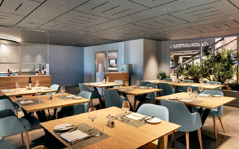 REstaurants on board the MSC Meraviglia