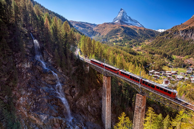 Rail travel in Switzerland