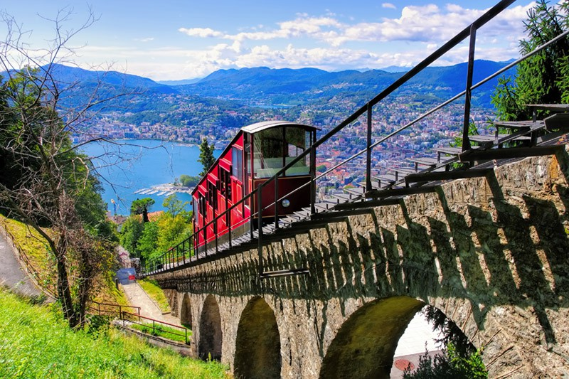 Train travel in Switzerland
