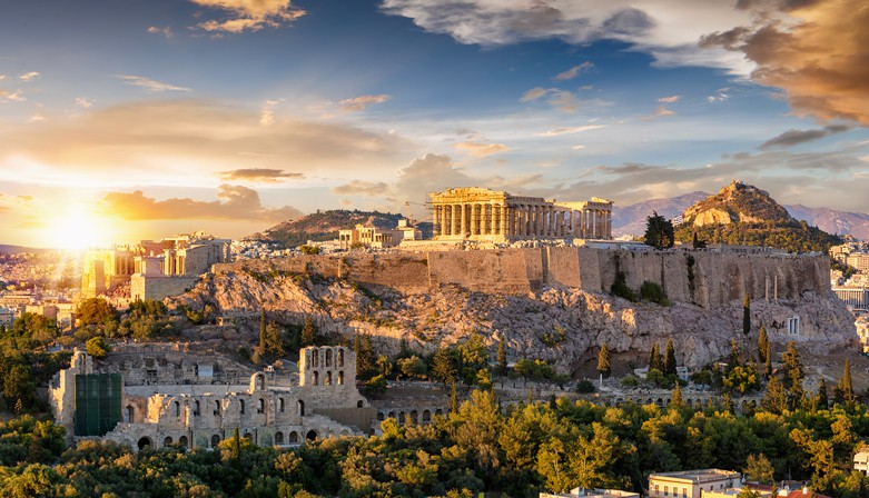 The Acropolis greece vacation