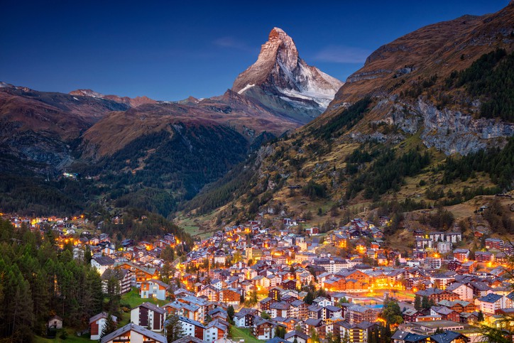 matterhorn switzerland vacation