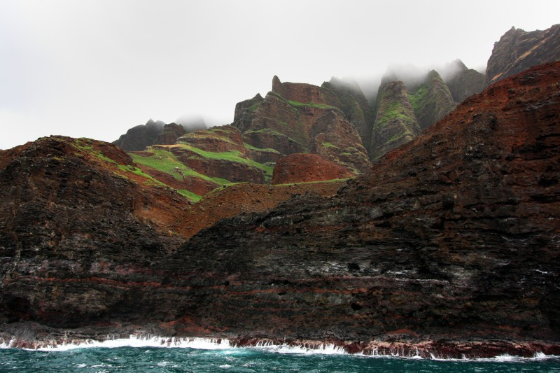 Na Pali Cliffs of Oahu