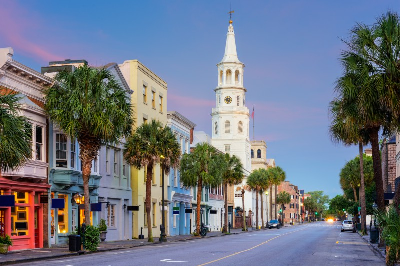romantic Charleston