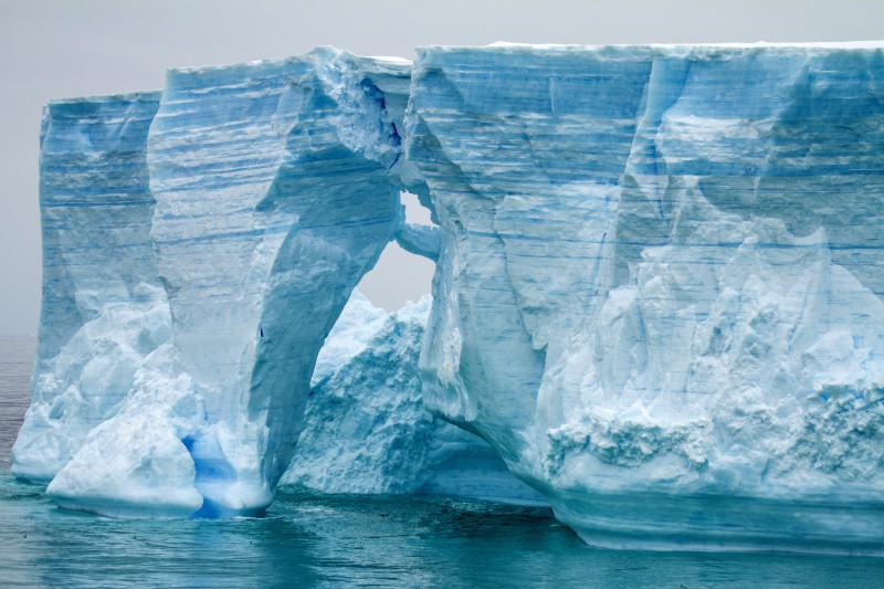 Ice Channels in Antarctica