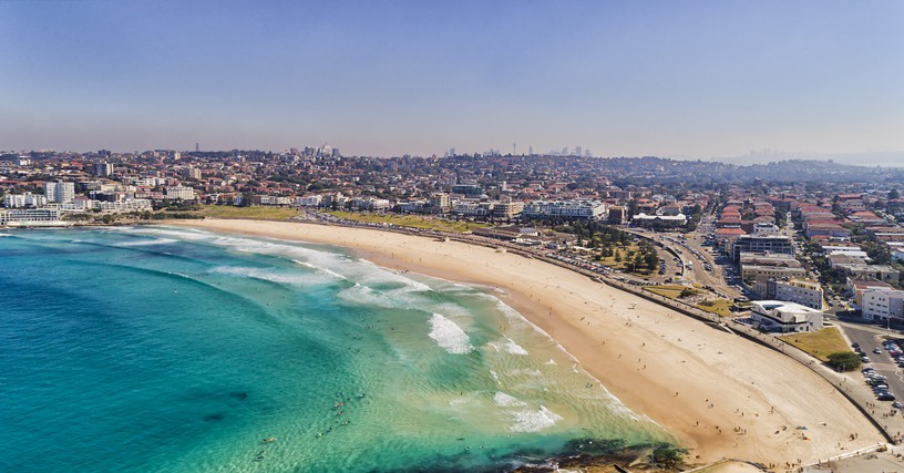bondi beach australia vacation