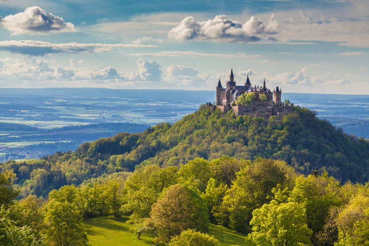 Hohenzollern Castle germany vacation