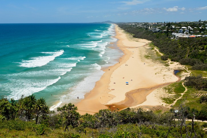 Noosa beach australia vacation