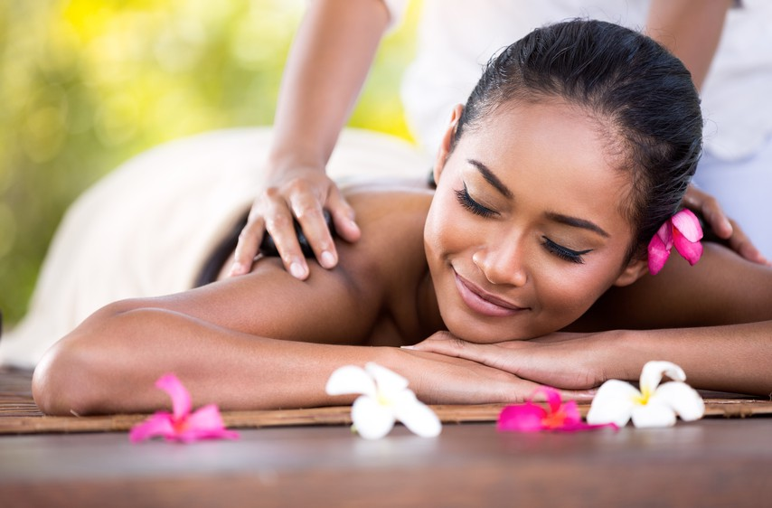 Spa treatments at an all-inclusive resort