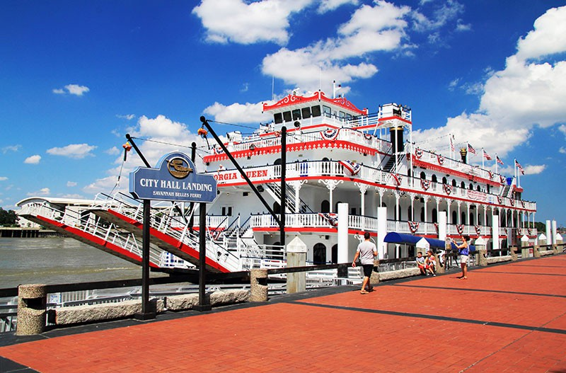 Riverboat on the Savannah River