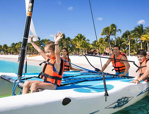Water sports at Barcelo Maya Colonial