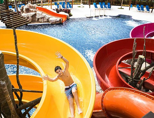 Water Park at Barcelo Maya Tropical