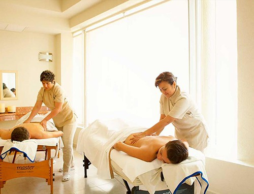 Couples Massages at Occidental Costa Cancun Spa