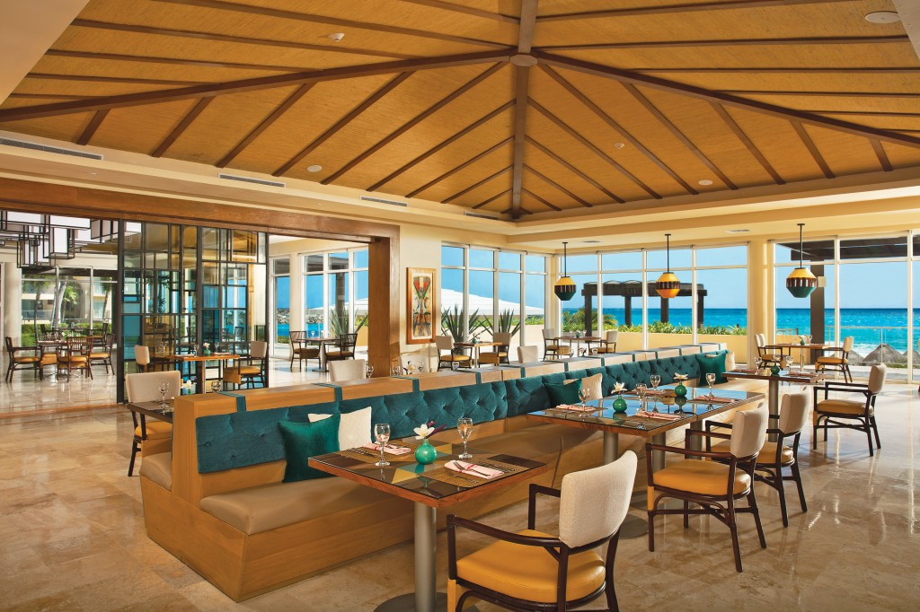 Mercure Restaurant at Now Jade Riviera Cancun
