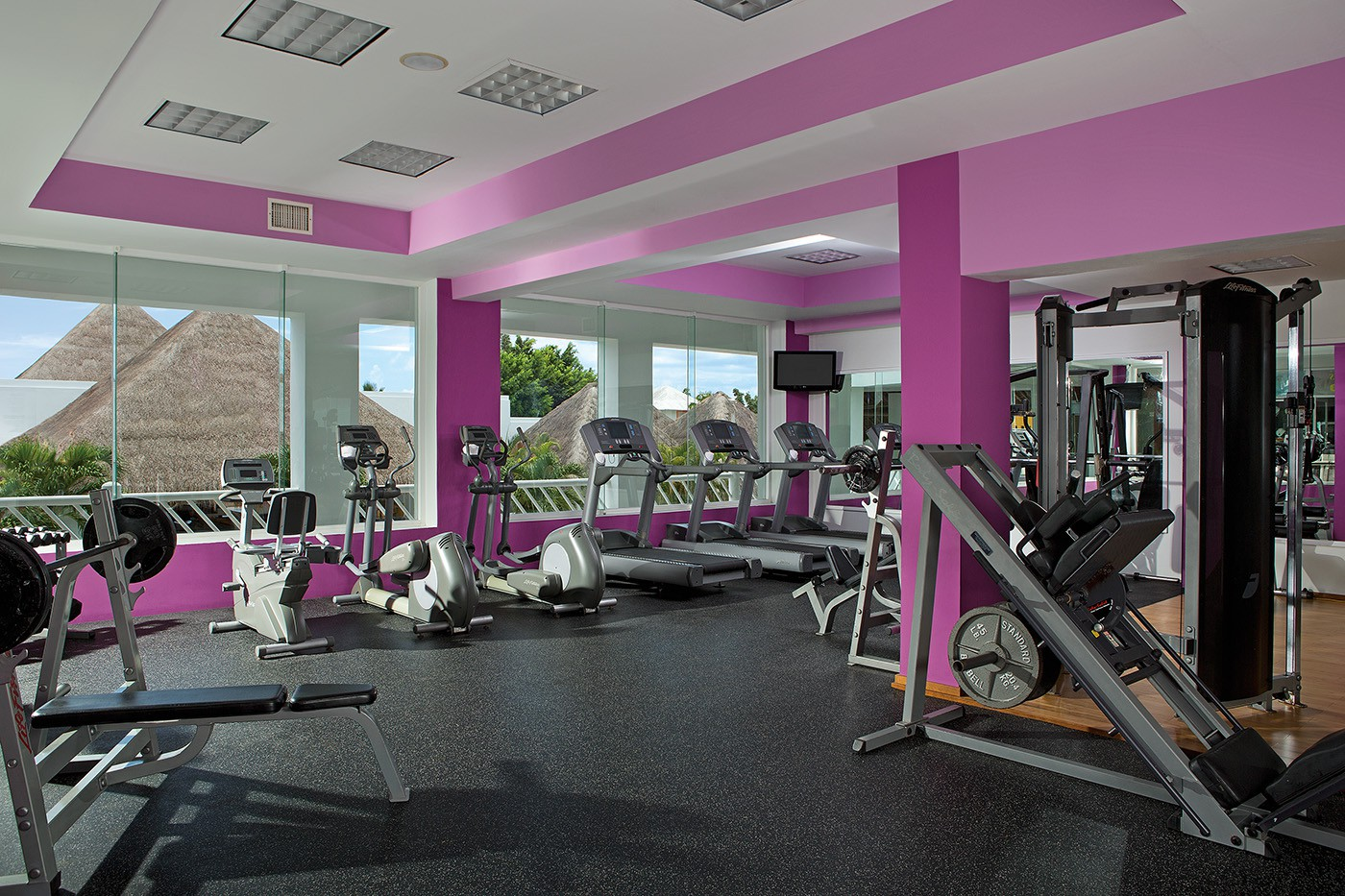Fitness at Secrets Aura Cozumel