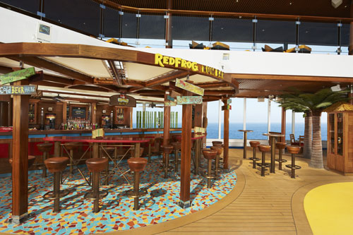 Carnival Breeze Red Frog Pub