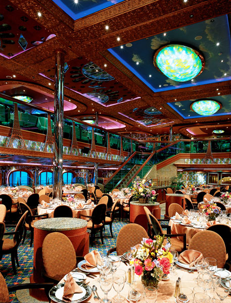 Carnival Conquest Renoir Dining Room