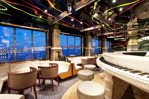 Carnival Elation Duke's Piano Bar