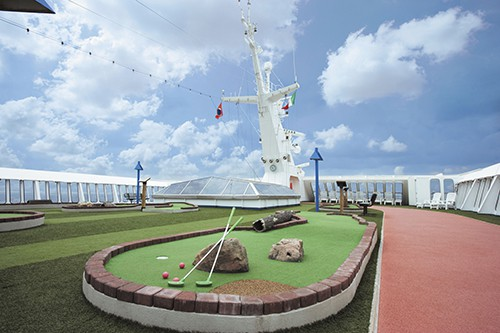 Carnival Imagination Mini-Golf