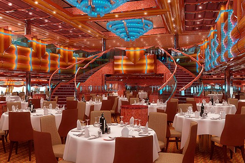 Carnival Magic Southern Lights Dining Room