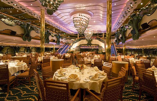 Carnival Splendor Dining Room