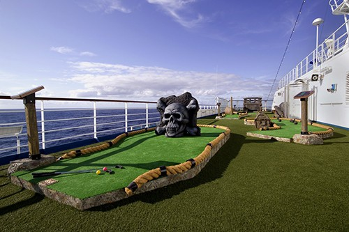 Carnival Splendor Mini Golf