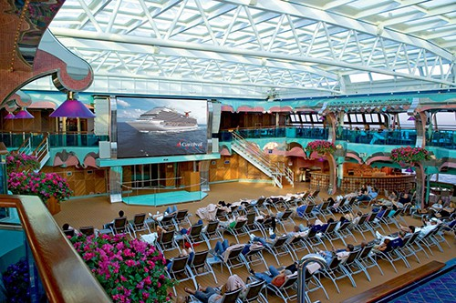 Carnival Splendor Seaside Theater