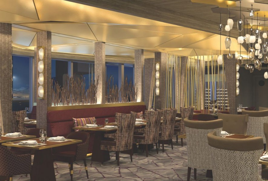 Dining on Celebrity Edge