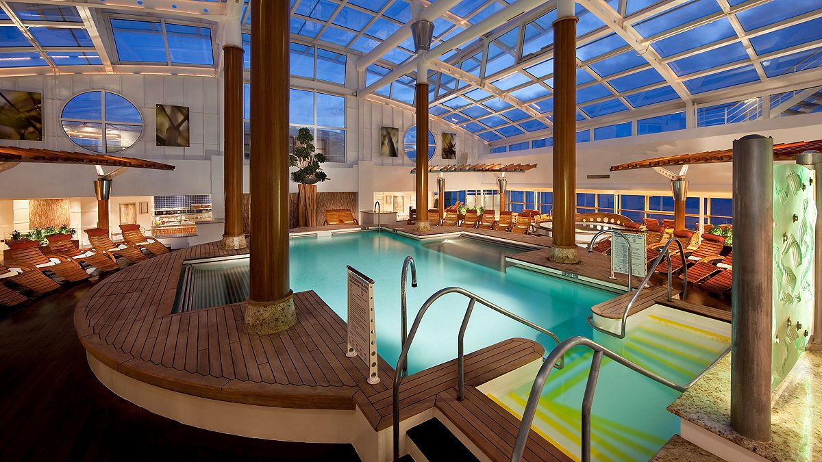 Pool aboard the Celebrity Infinity