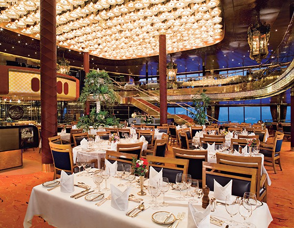 Dining on the Maasdam