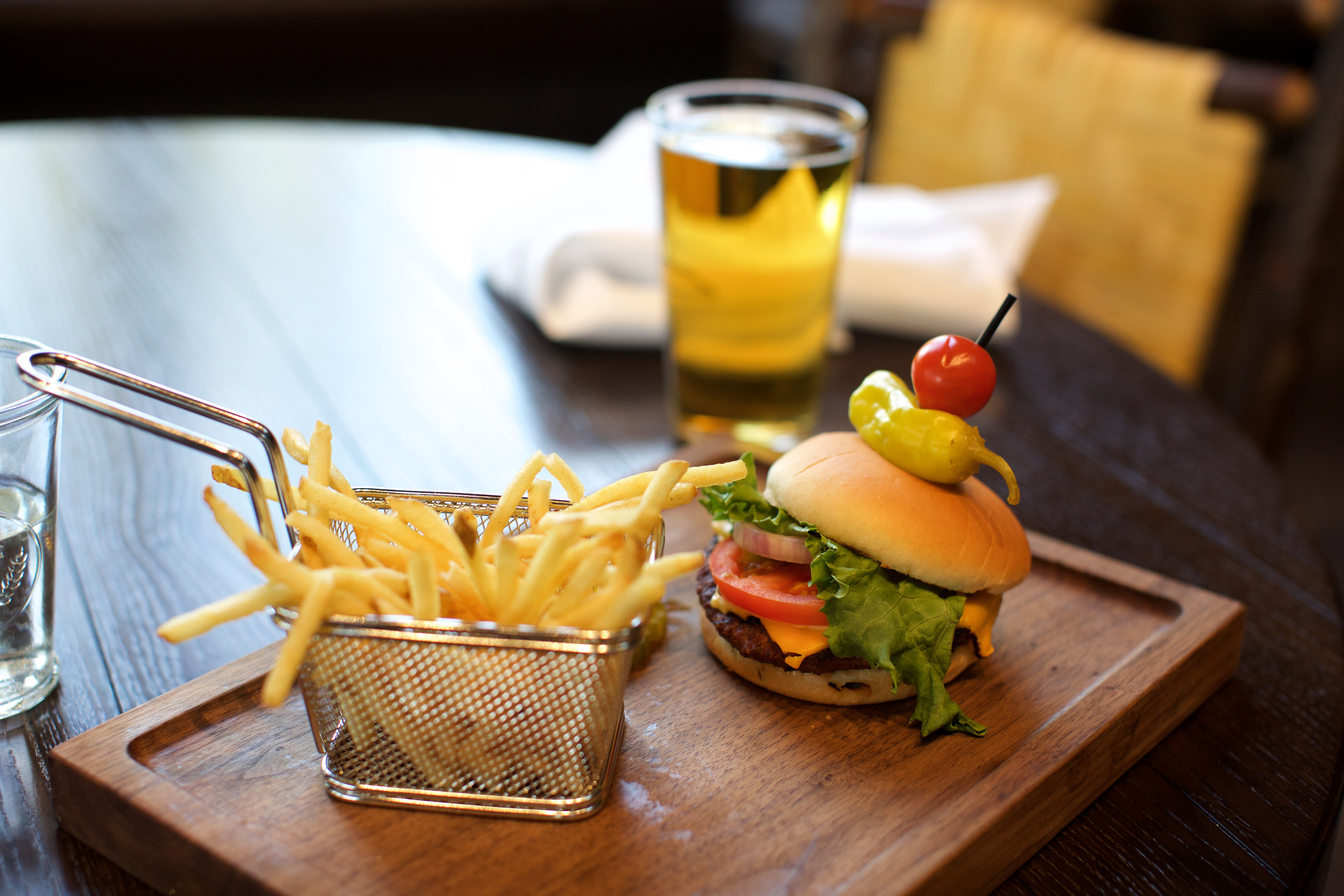 Burgers on the Noordam by Holland America Line