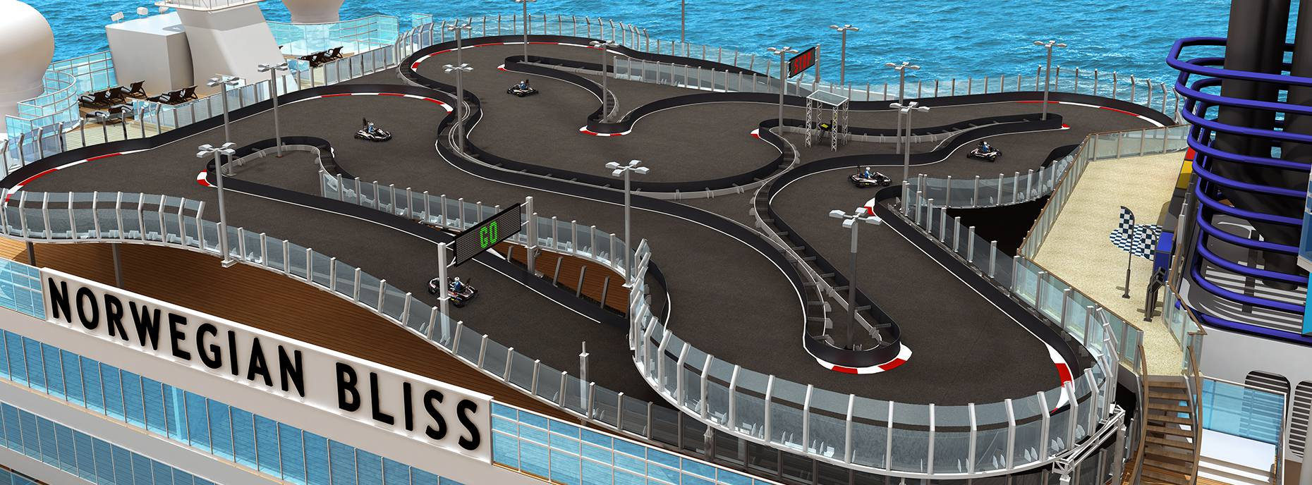Norwegian Bliss Racetrack