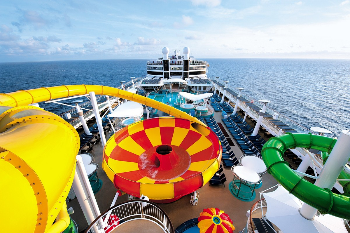 Norwegian Epic Water Park