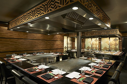 Teppanyaki on Norwegian Jade