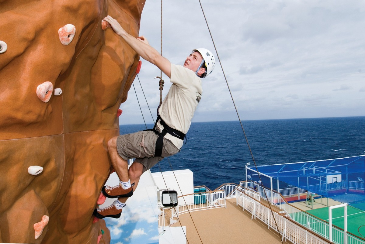 Norwegian Pearl Rock Climbing Wall