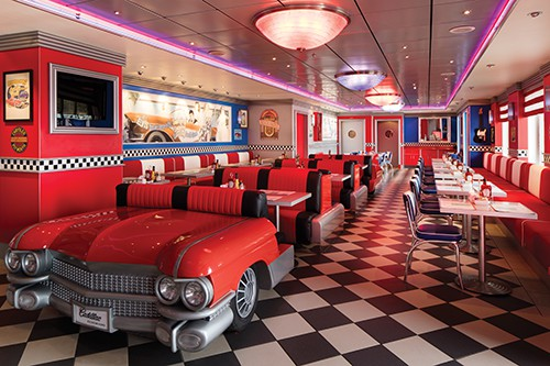 Cadillac Diner on Pride of America