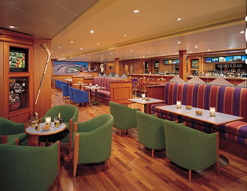 Longboard Bar on Norwegian Sky
