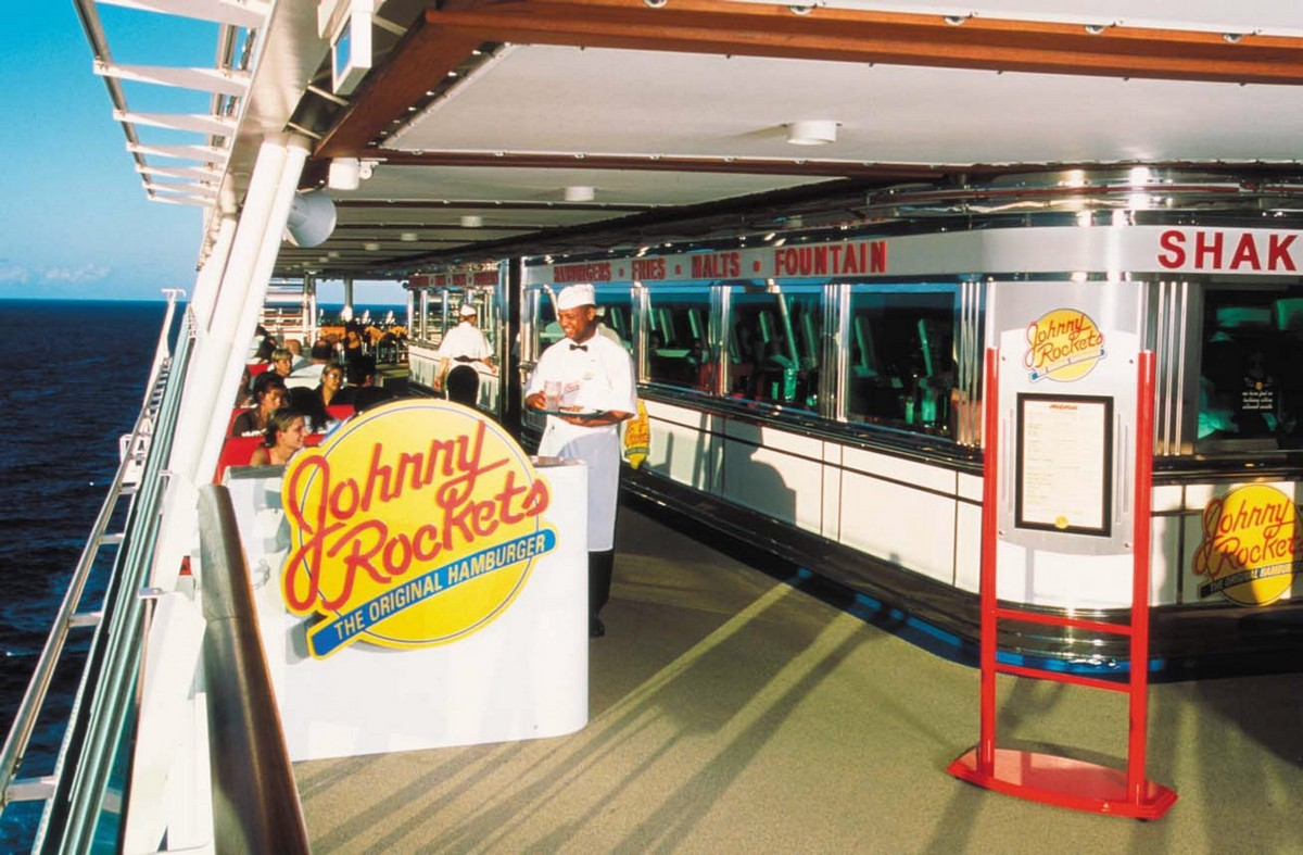 Johnny Rockets on Adventure of the Seas