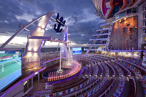 Allure of the Seas Aqua Theater