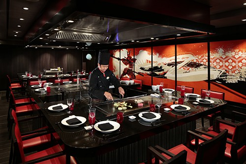 Izumi Hibachi & Sushi on Harmony of the Seas