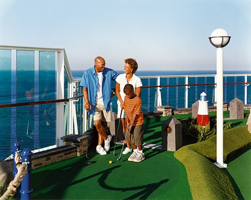 Jewel of the Seas Mini Golf