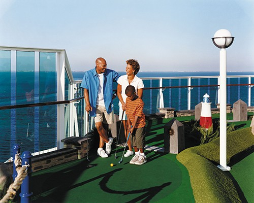Radiance of the Seas Mini Golf
