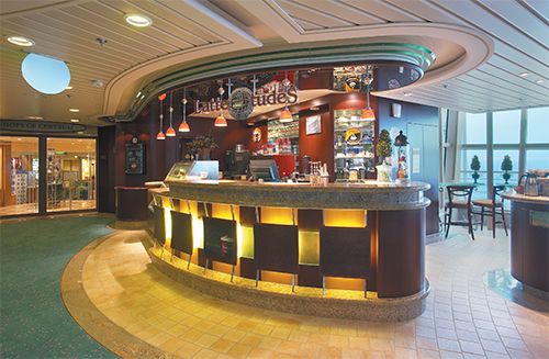 Cafe Latte-tudes on Serenade of the Seas