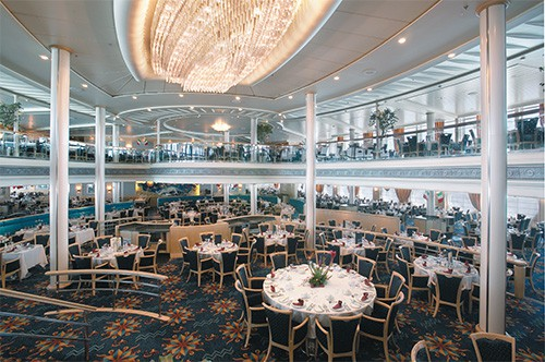 Vision of the Seas Aquarius Dining Room