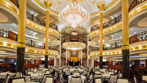 Main Dining on Voyager of the Seas