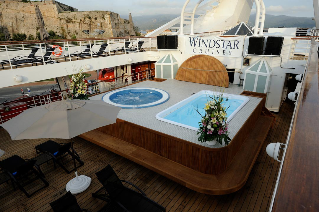 Pool deck on the Star Legend
