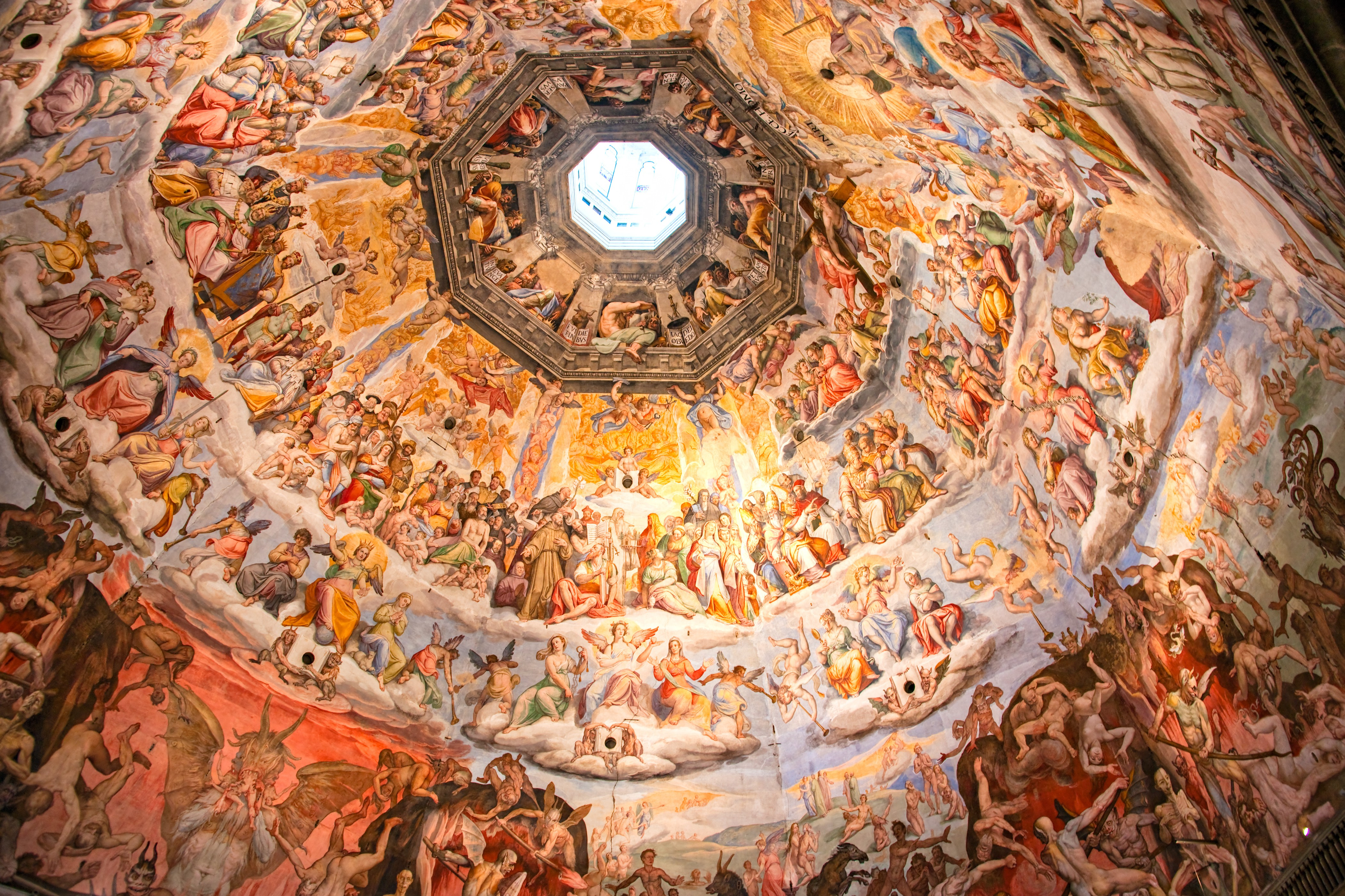 Italy vacations ceiling mural